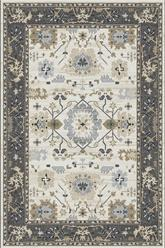 Dynamic Rugs Yazd 8531-190 Ivory and Grey