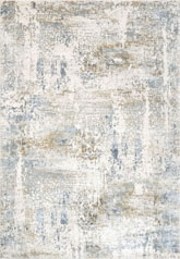 Dynamic Rugs Quartz 27050150 Ivory and Blue