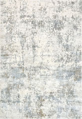 Dynamic Rugs Quartz 27061150 Ivory and Blue