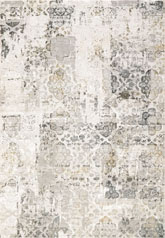 Dynamic Rugs Quartz 27077190 Ivory and Grey