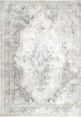 Dynamic Rugs Torino 3337135 Ivory Red and Blue