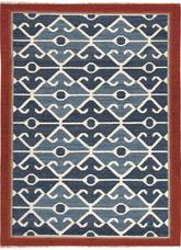 Jaipur Anatolia Sultan Blue/Red AT03