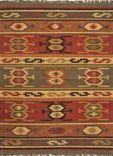 Jaipur Bedouin Thebes Red/Yellow BD01