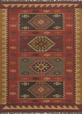 Jaipur Bedouin Amman Red/Yellow BD04