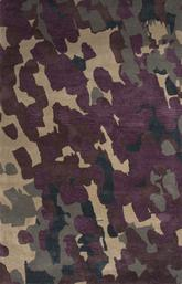 Jaipur Blue Tempera Purple/Ivory   BL138