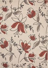 Jaipur Bloom Spring Ivory/Red BLO07