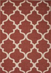 Jaipur Bloom Stamped Red/Ivory BLO27