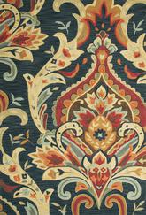 Jaipur Brio Brocade Blue/Red BR28