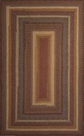 Jaipur Cotton Braided Rugs Biscotti Red/Yellow CBR01