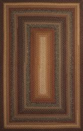 Jaipur Cotton Braided Rugs Peppercorn Taupe/Red CBR03