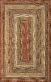 Jaipur Cotton Braided Rugs Pumpkin Pie Red/Ivory CBR04