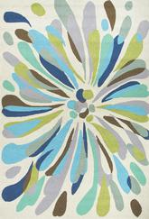 Jaipur Colours Flowerburst Multi/Blue CO16
