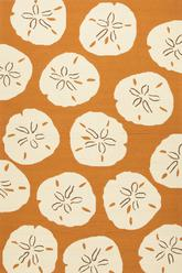 Jaipur Coastal Lagoon Sand Dollar Orange/White COL39