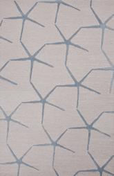 Jaipur Coastal Resort Starfishing Ivory/Blue COR24