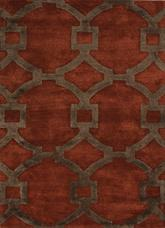 Jaipur City Regency Red/Brown CT04