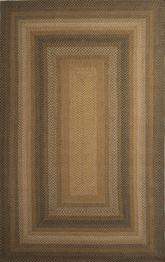 Jaipur Hudson Jute Braided Rugs Coffee Taupe/Green HBR03
