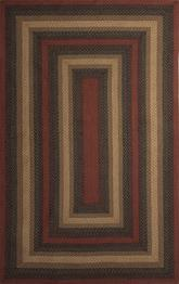 Jaipur Hudson Jute Braided Rugs Vancouver Black/Red HBR08
