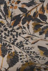 Jaipur En Casa By Luli Sanchez Tufted Wild Flowers Gray/Orange LST02
