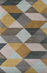 Jaipur En Casa By Luli Sanchez Tufted Ojo Yellow/Gray LST16