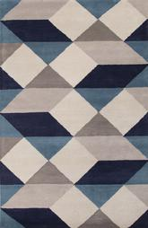Jaipur En Casa By Luli Sanchez Tufted Ojo Blue/White LST17