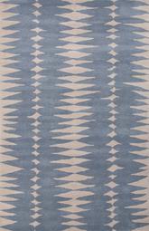 Jaipur En Casa By Luli Sanchez Tufted Ojo Blue White Lst17