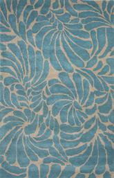Jaipur En Casa By Luli Sanchez Tufted Swirls Blue/White LST28