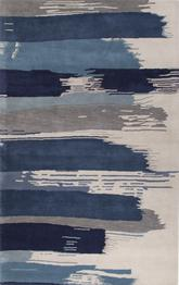 Jaipur En Casa By Luli Sanchez Tufted Painterly Blue/White LST35
