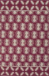 Jaipur Traditions Made Modern Cotton Flat Weave Clouds Pink/Ivory MCF06