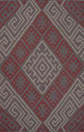 Jaipur Traditions Made Modern Cotton Flat Weave Zagros Pink/Red MCF08