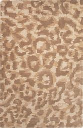 Jaipur National Geographic Home Collection Tufted Ocelot Brown NGT04