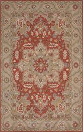 Jaipur Poeme Orleans Red/Taupe PM132