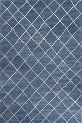 Jaipur Riad Gem Blue/White RIA02