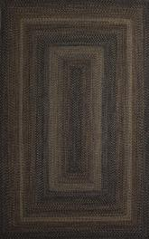 Jaipur Ultra Durable Braided Rugs Black Forest Black/Gray UBR02