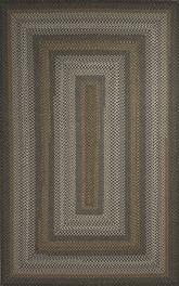 Jaipur Ultra Durable Braided Rugs Dover Gray/Taupe UBR03