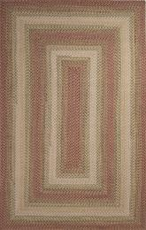 Jaipur Ultra Durable Braided Rugs Tuscany Red/Ivory UBR05