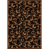 Joy Carpets Any Day Matinee Acanthus Black