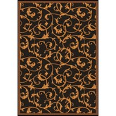 Joy Carpets Any Day Matinee Acanthus Brown