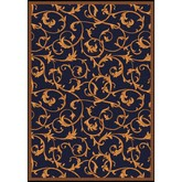 Joy Carpets Any Day Matinee Acanthus Navy