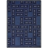 Joy Carpets Any Day Matinee Admit One Blue