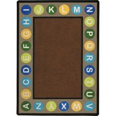 Joy Carpets Kid Essentials Alphabet Spots Earthtone