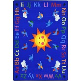 Joy Carpets Kid Essentials Alphabet Tweet Multi