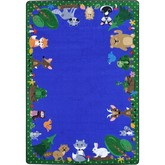Joy Carpets Kid Essentials Animals Among Us Multi