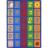 Joy Carpets Kid Essentials Any Day Alphabet Multi