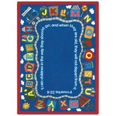 Joy Carpets Kid Essentials Bible Train Multi