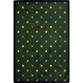 Joy Carpets Games People Play Billiards Green