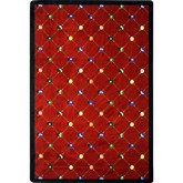 Joy Carpets Games People Play Billiards Red