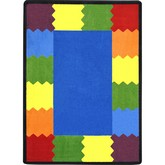 Joy Carpets Kid Essentials Block Party Multi