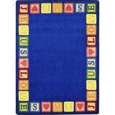 Joy Carpets Kid Essentials Blocks of Love Multi
