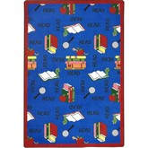 Joy Carpets Kid Essentials Bookworm Blue