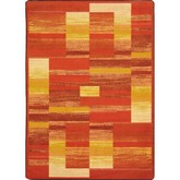 Joy Carpets Kid Essentials Boomblox Orange
